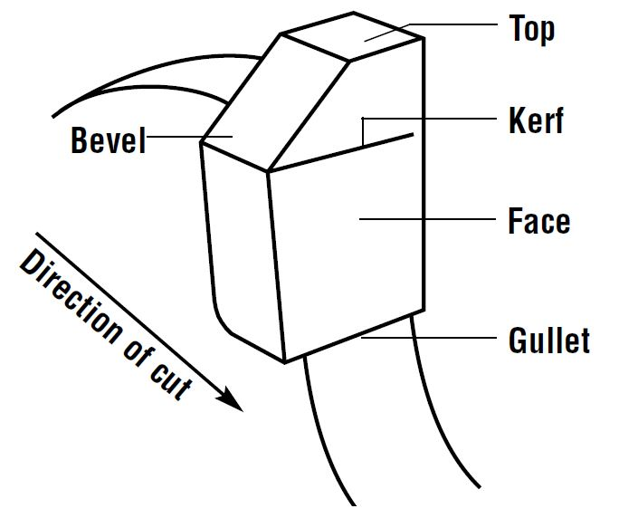 circular saw blade anatomy and grind types