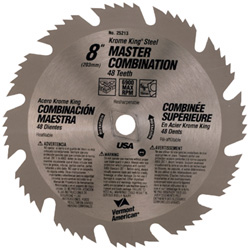 Krome King™ Series Steel Circular Saw Blades for Cutting Wood