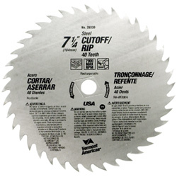 XTEND™ Cordless Series Steel Circular Saw Blades for Cutting Wood