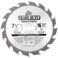 Trade Duty™ Series Carbide Tipped Circular Saw Blades