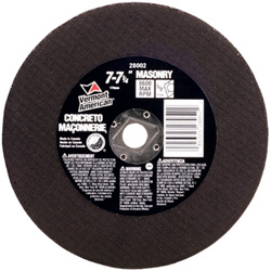 Abrasive Wheels for Cutting Masonry / Concrete (Type 1A or ISO 41)
