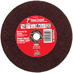 High Performance Abrasive Wheels for Cutting Steel (Type 1A or ISO 41)