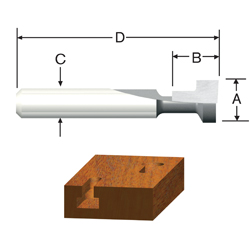 Carbide Tipped Silver Series Keyhole Bit