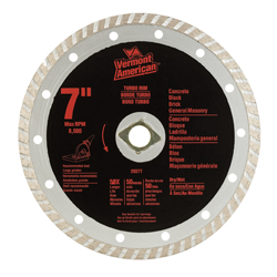 Diamond Blades - Turbo Diamond Abrasive Blades